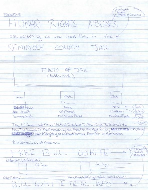 Bill White - Human Rights Violation